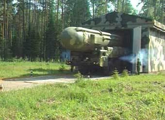 Баллистическая ракета тополь м кадр